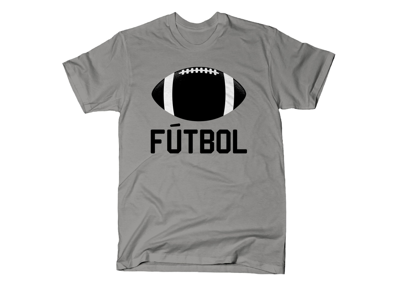 Futbol on Mens T-Shirt