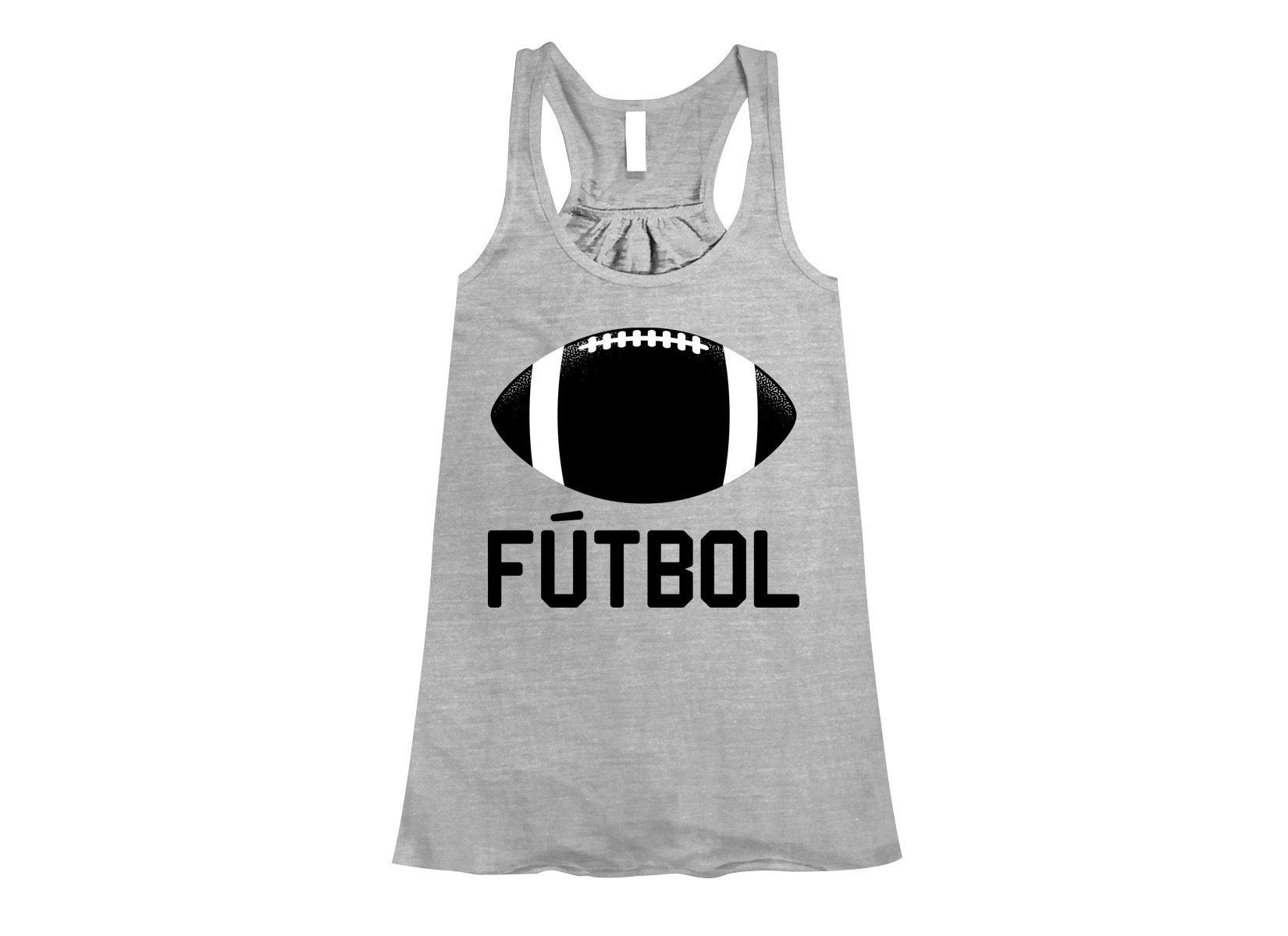 Futbol on Womens Tanks T-Shirt