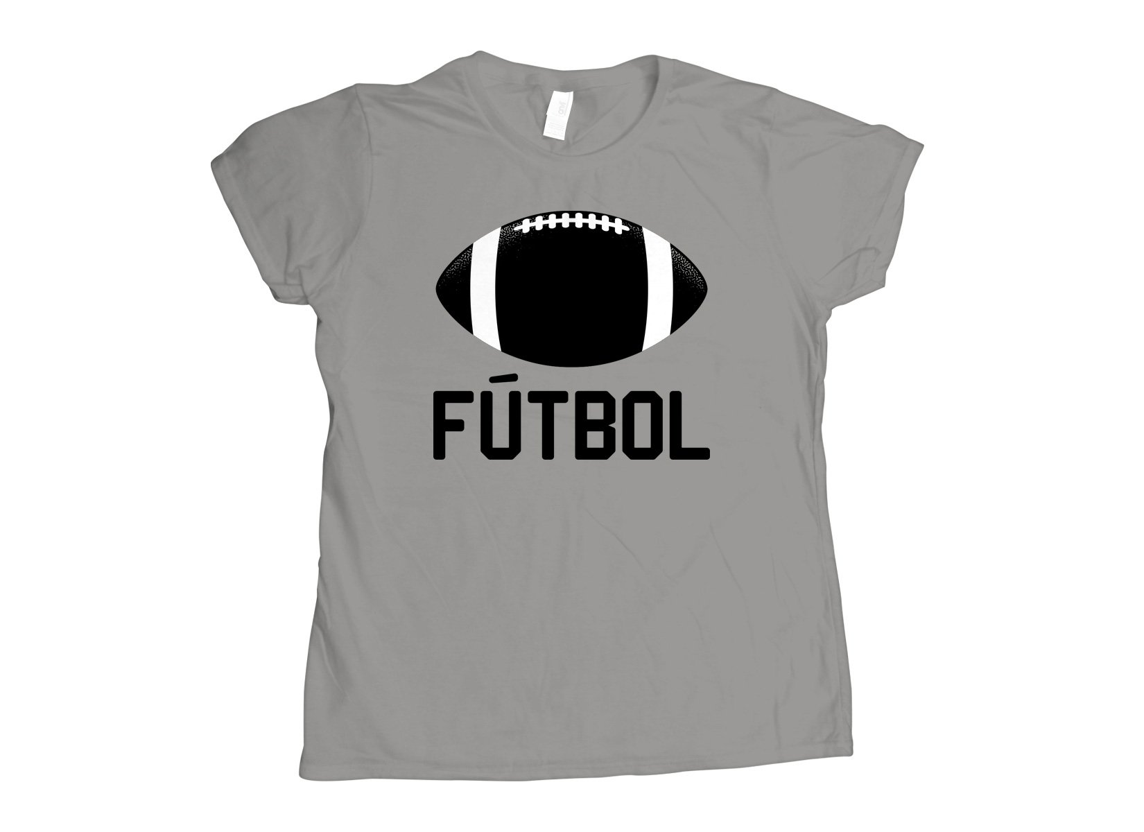 Futbol on Womens T-Shirt