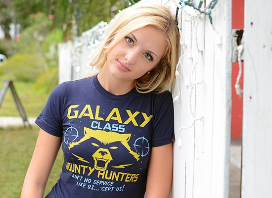 Galaxy Class Bounty Hunters on Juniors T-Shirt