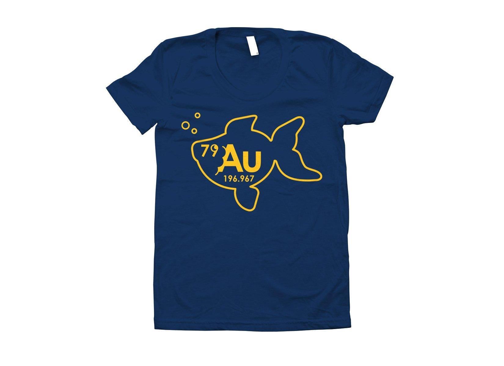 Goldfish on Juniors T-Shirt