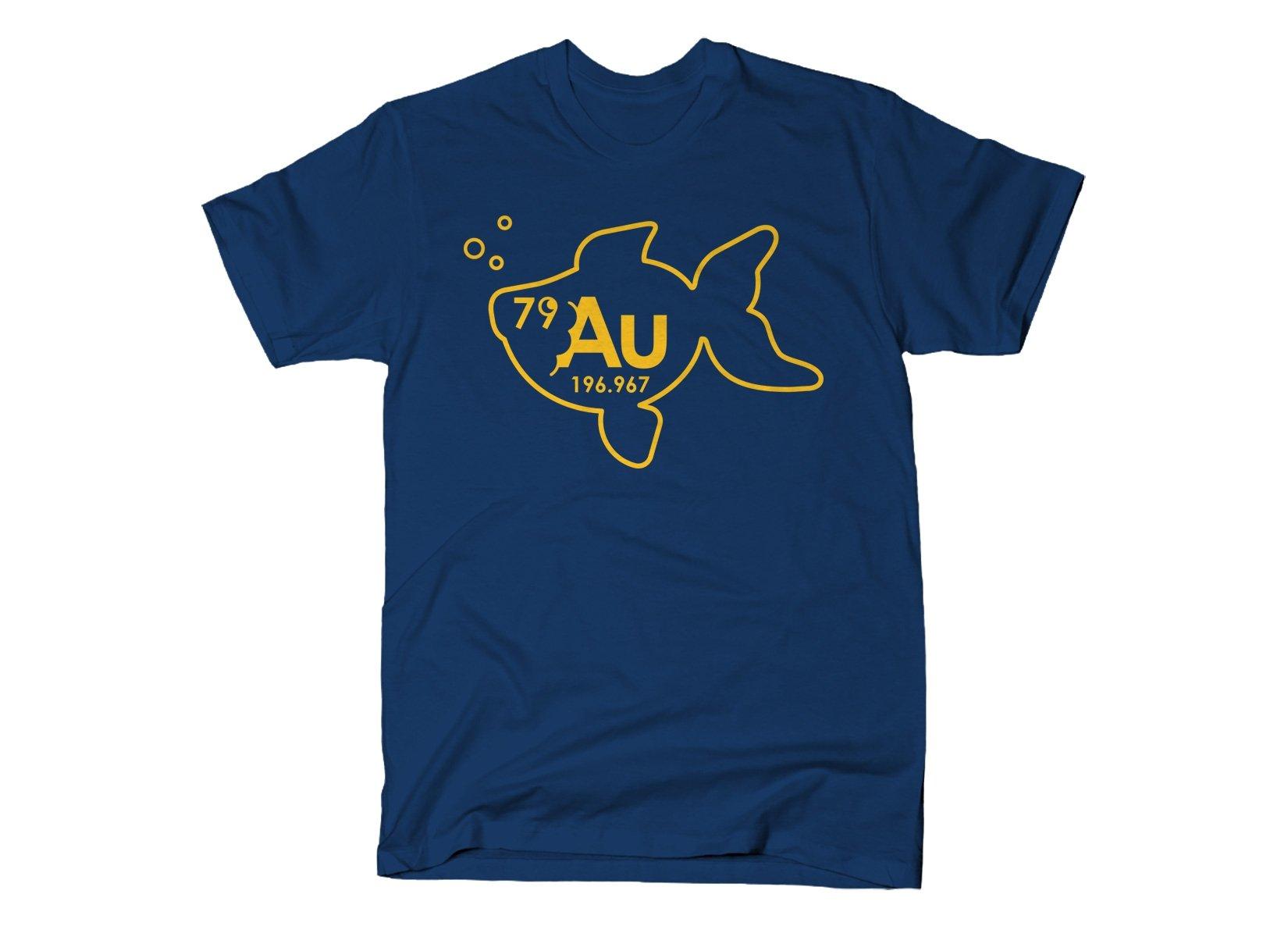 Goldfish on Mens T-Shirt
