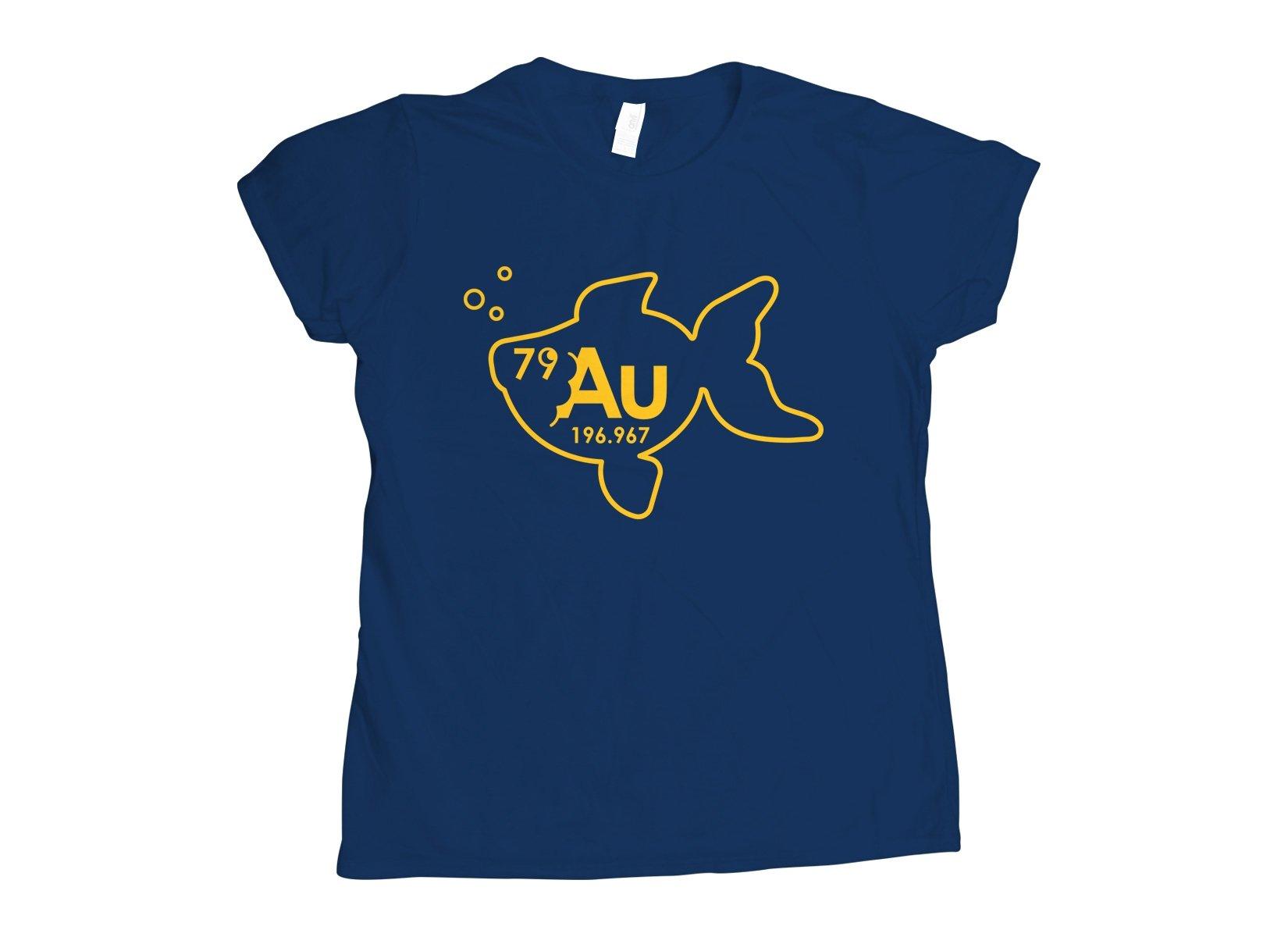 Goldfish on Womens T-Shirt