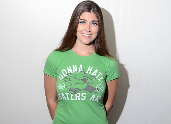 Gonna Hate Haters Are on Juniors T-Shirt