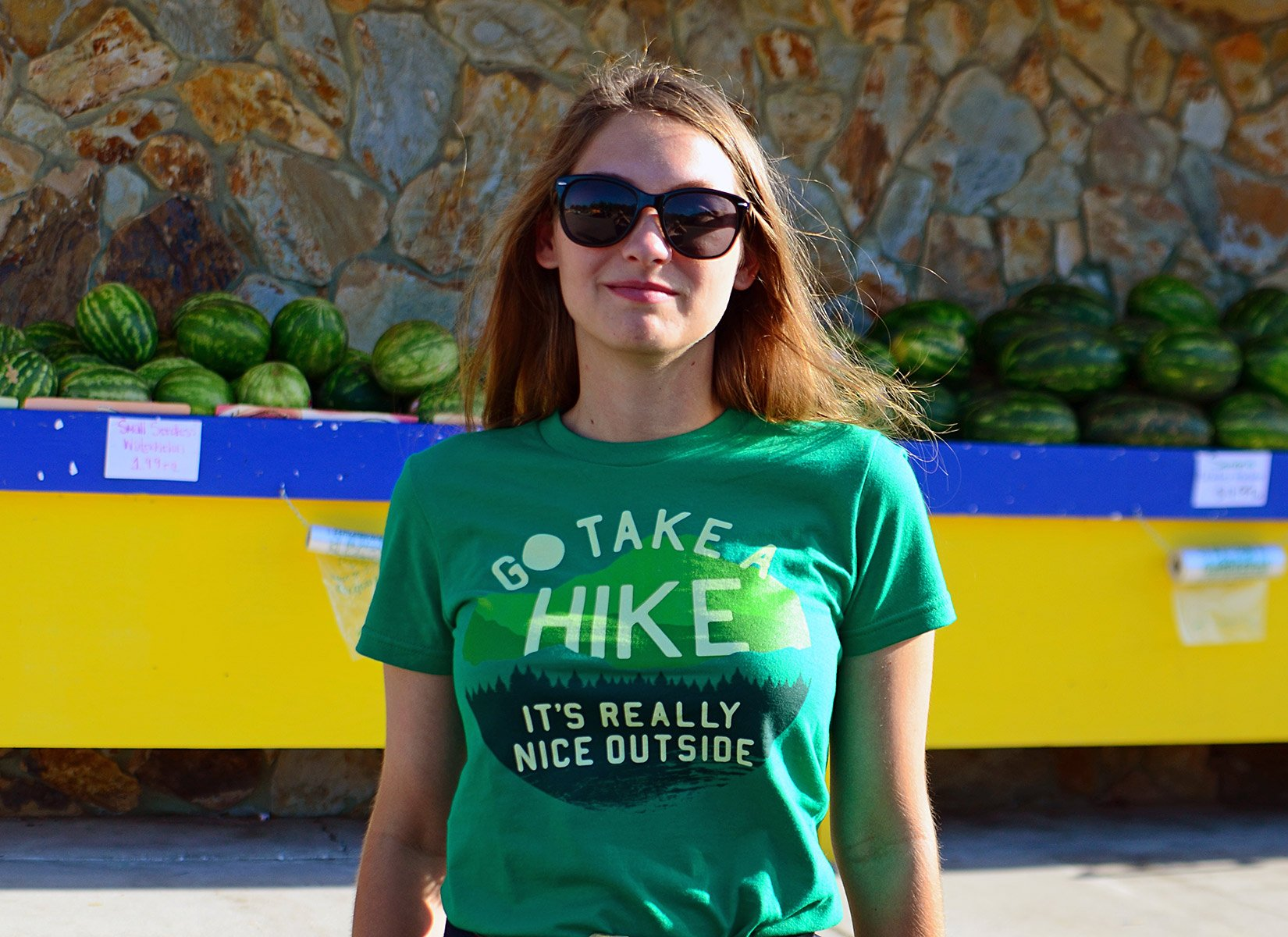 Go Take A Hike on Juniors T-Shirt