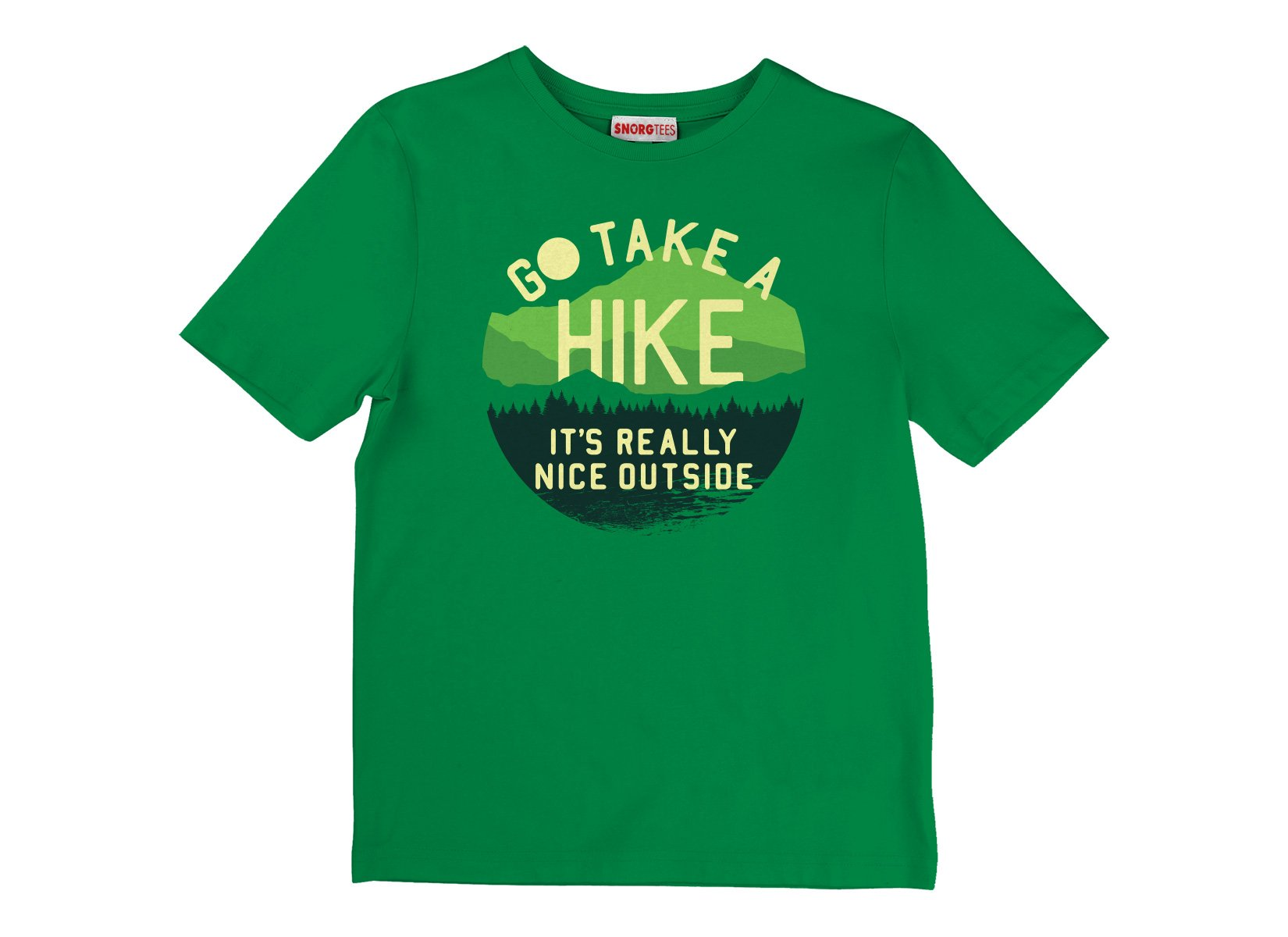 Go Take A Hike on Kids T-Shirt