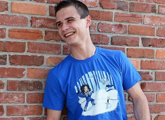 Jon Snowball on Mens T-Shirt