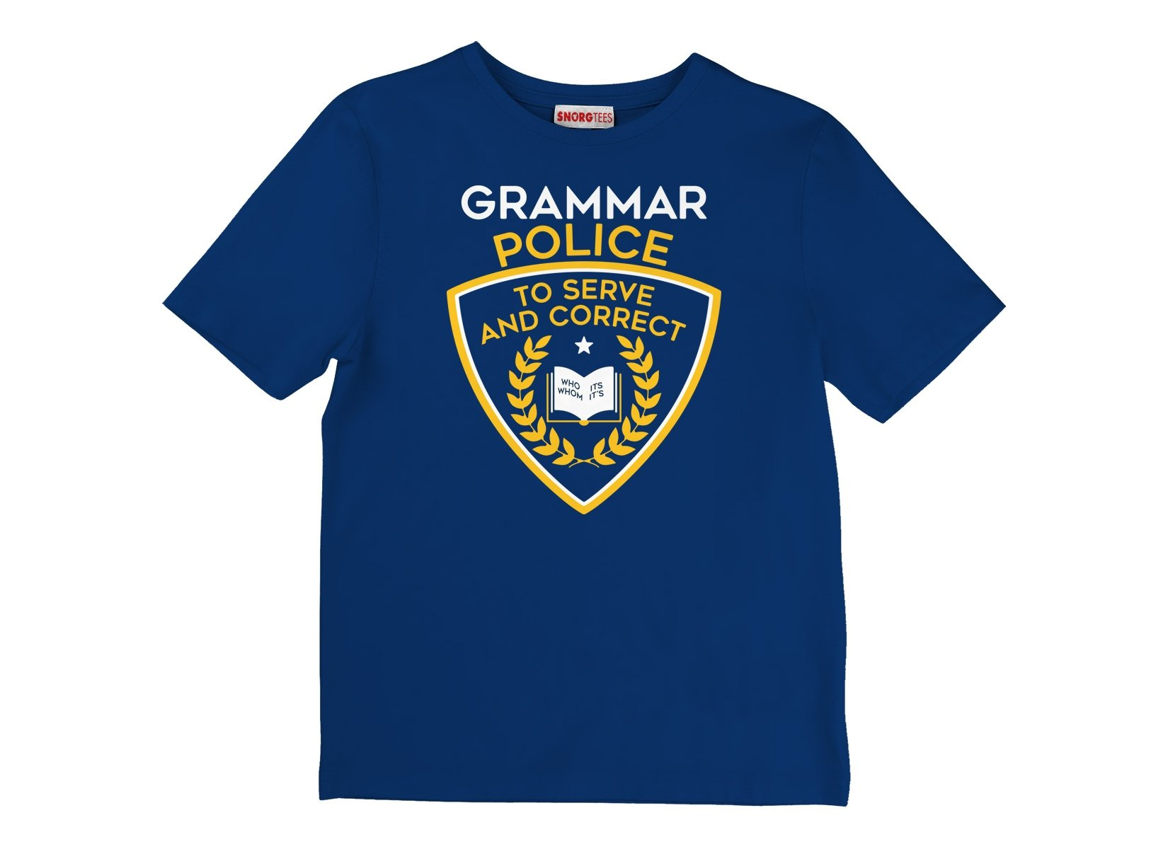 Grammar Police on Kids T-Shirt