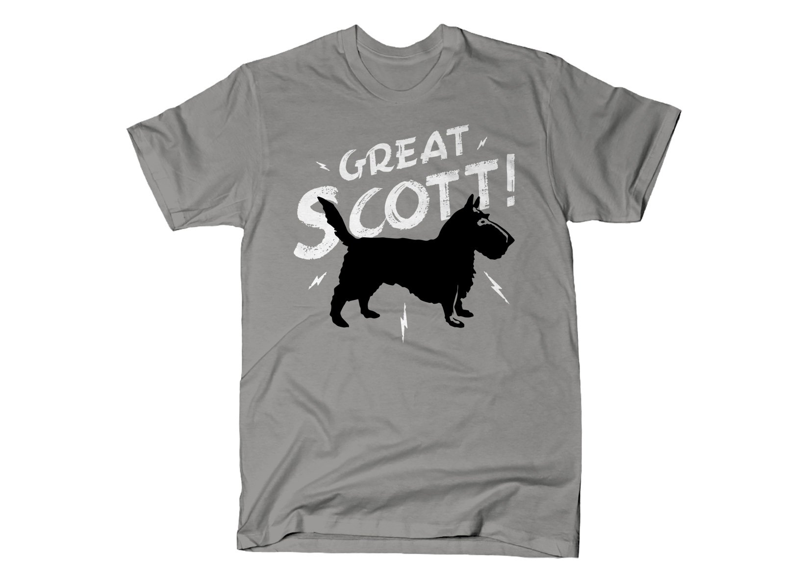Great Scott! on Mens T-Shirt
