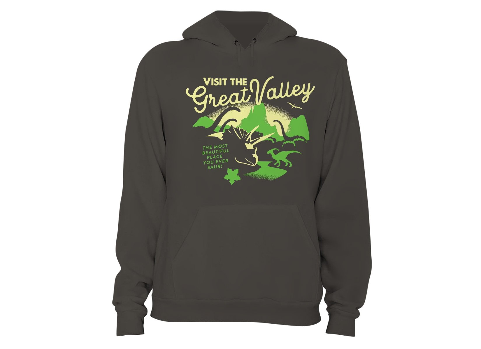Visit The Great Valley on Hoodie
