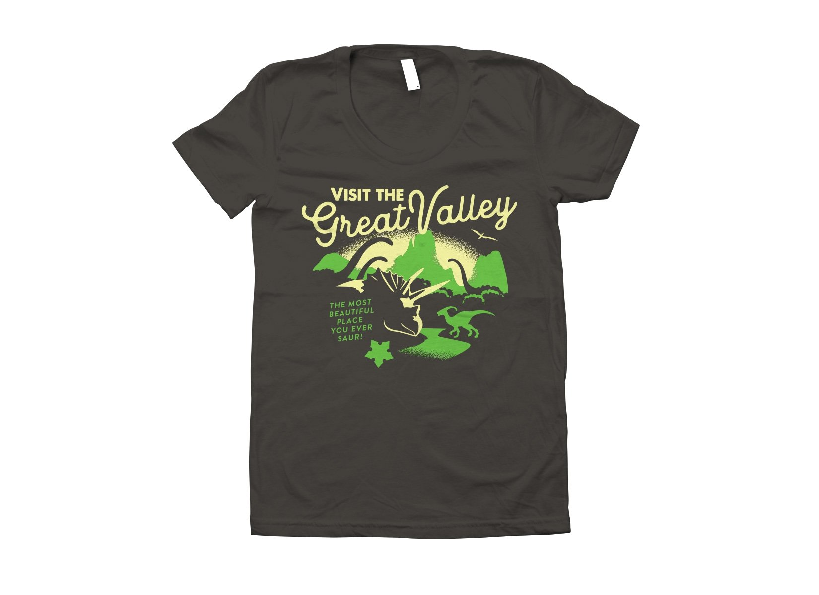 Visit The Great Valley on Juniors T-Shirt