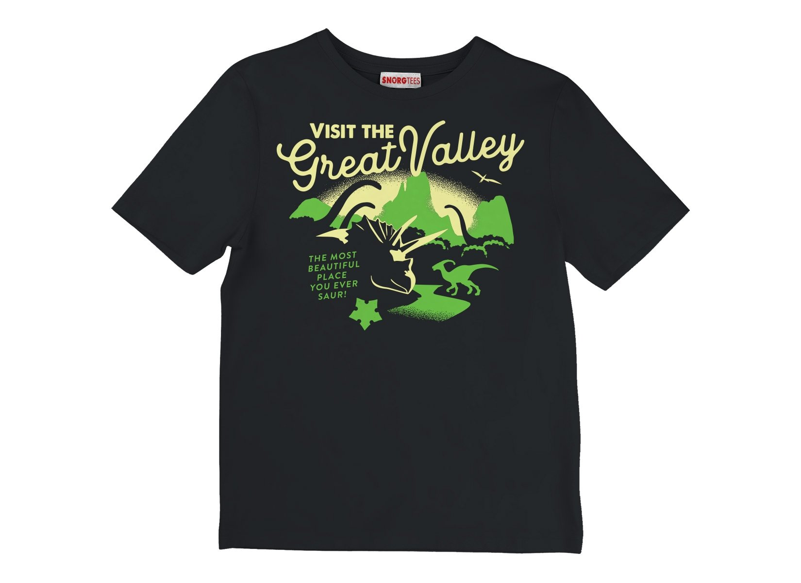 Visit The Great Valley on Kids T-Shirt