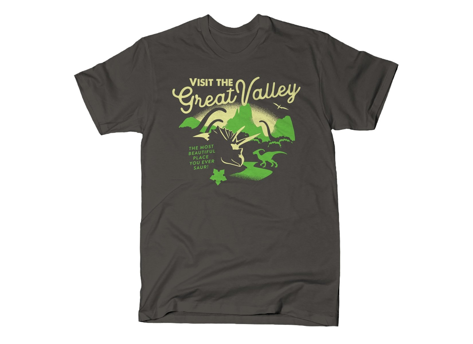 Visit The Great Valley on Mens T-Shirt