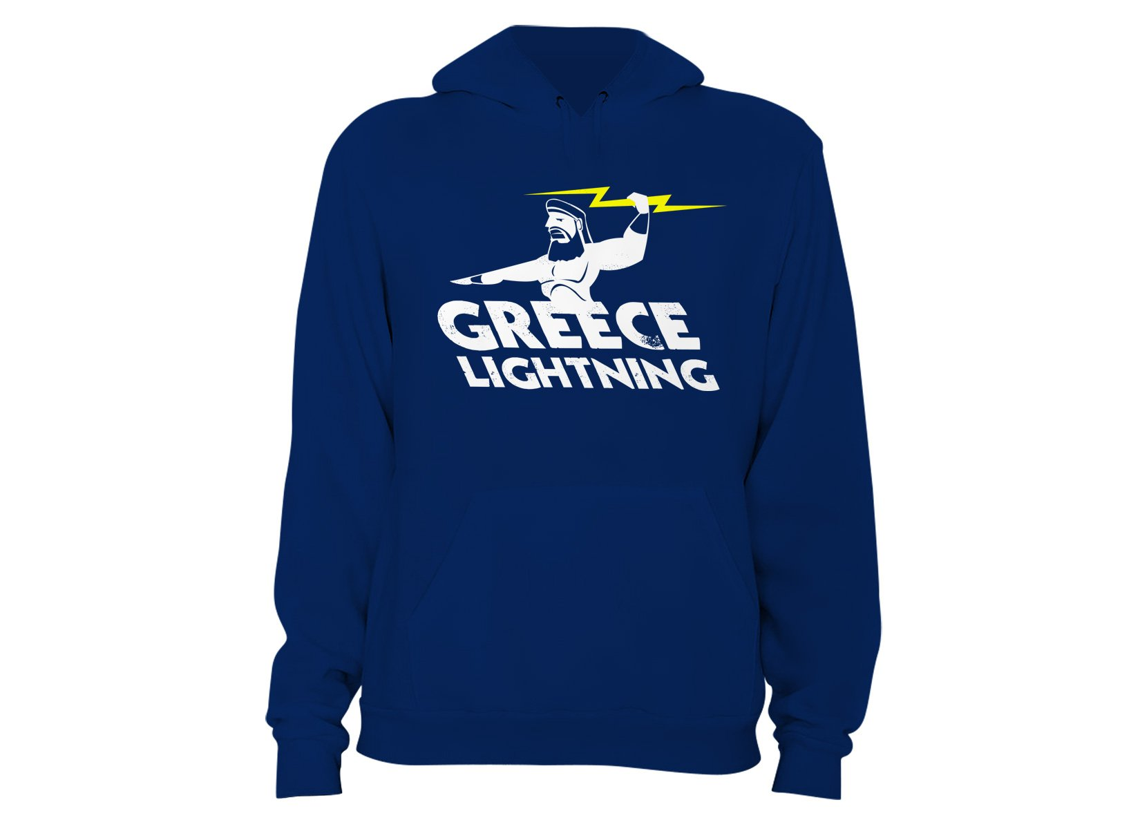 Greece Lightning on Hoodie