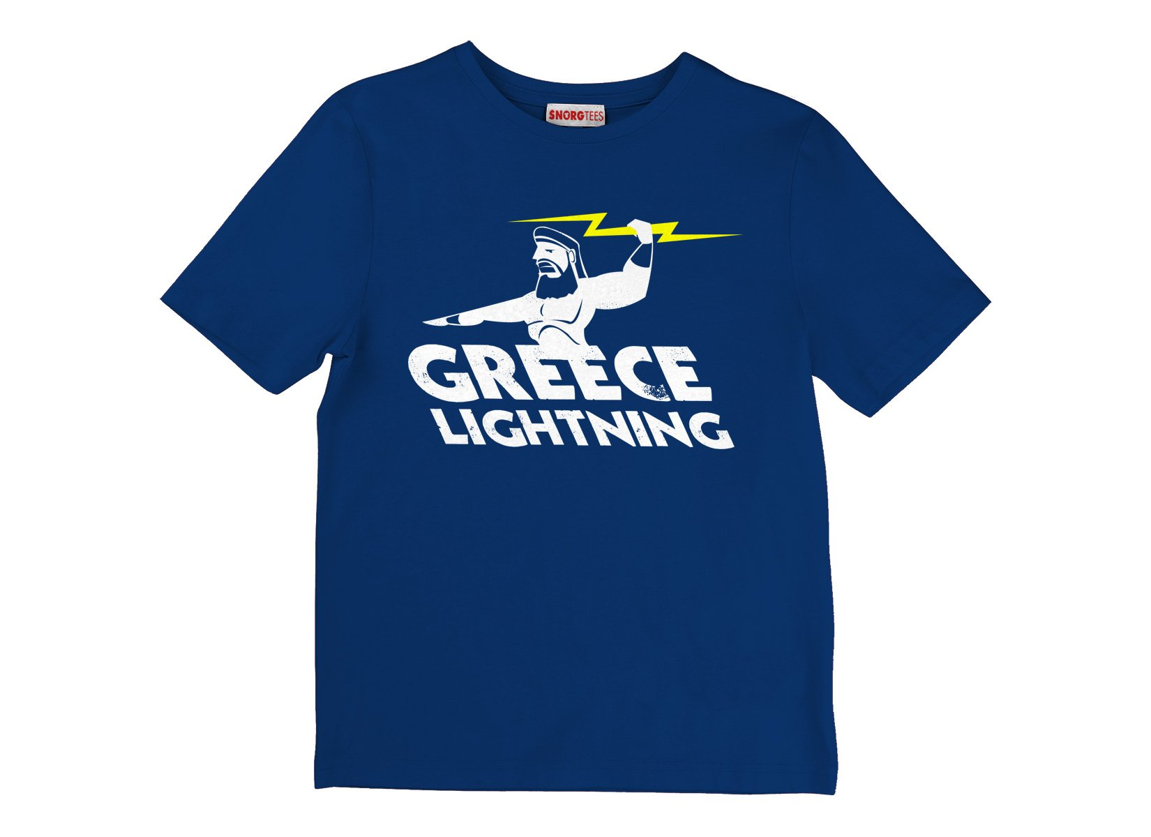 Greece Lightning on Kids T-Shirt