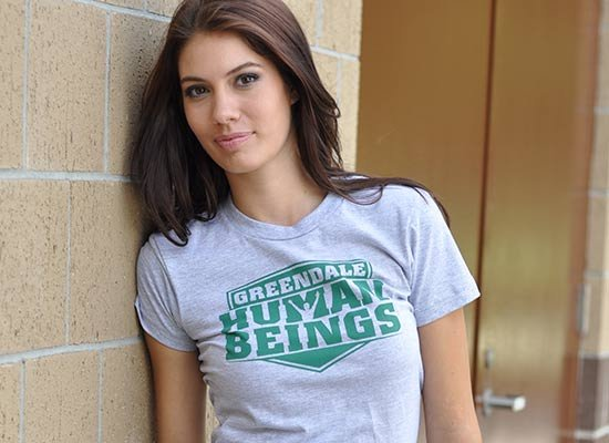 Greendale Human Beings on Juniors T-Shirt