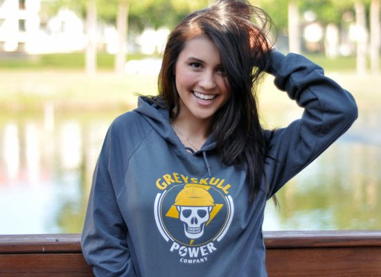 Greyskull Power Company on Hoodie