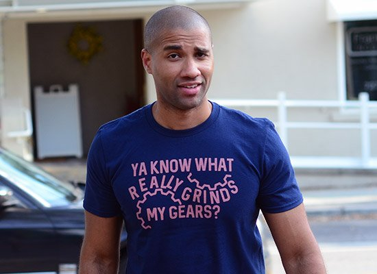 Grinds My Gears on Mens T-Shirt