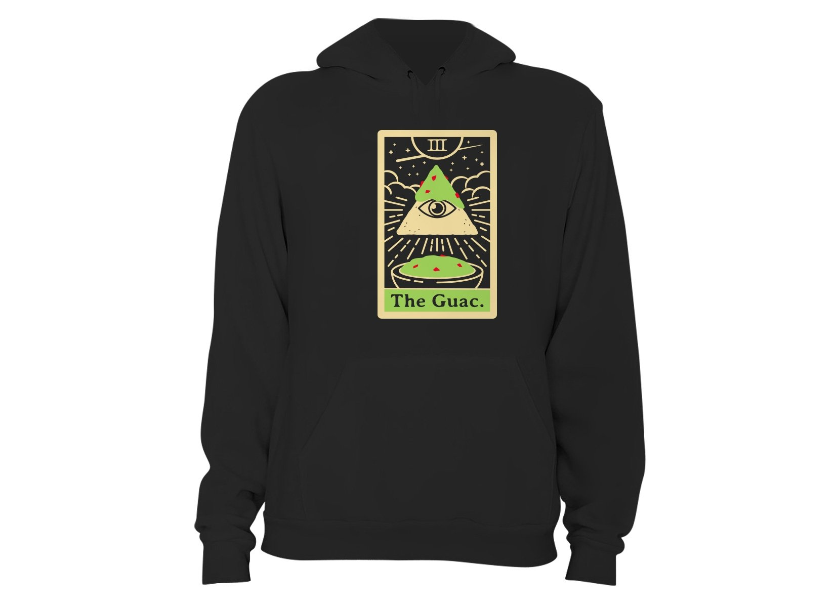 The Guac Tarot on Hoodie