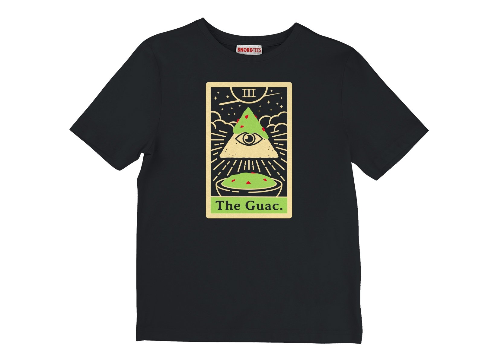 The Guac Tarot on Kids T-Shirt