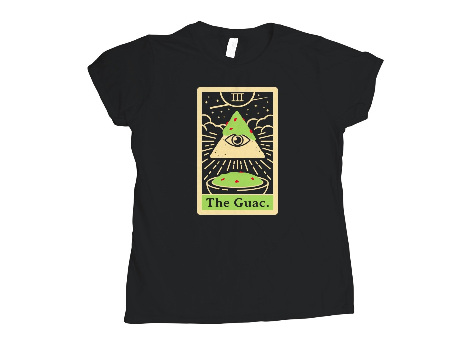 The Guac Tarot on Womens T-Shirt