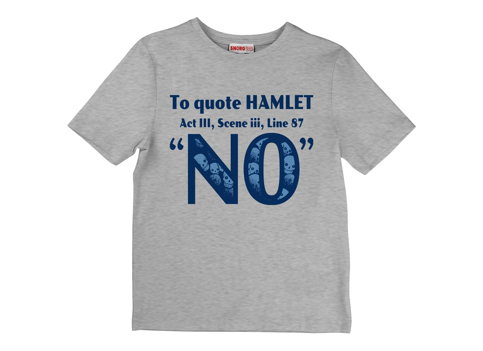 To Quote Hamlet on Kids T-Shirt