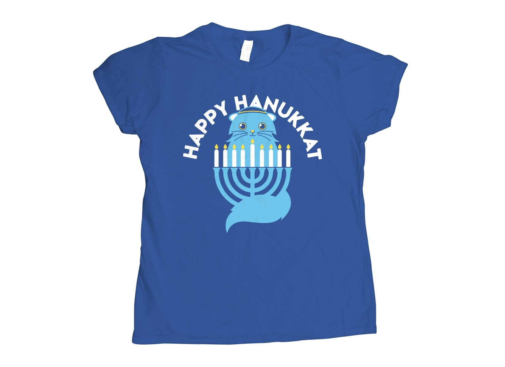 Happy Hanukkat on Womens T-Shirt