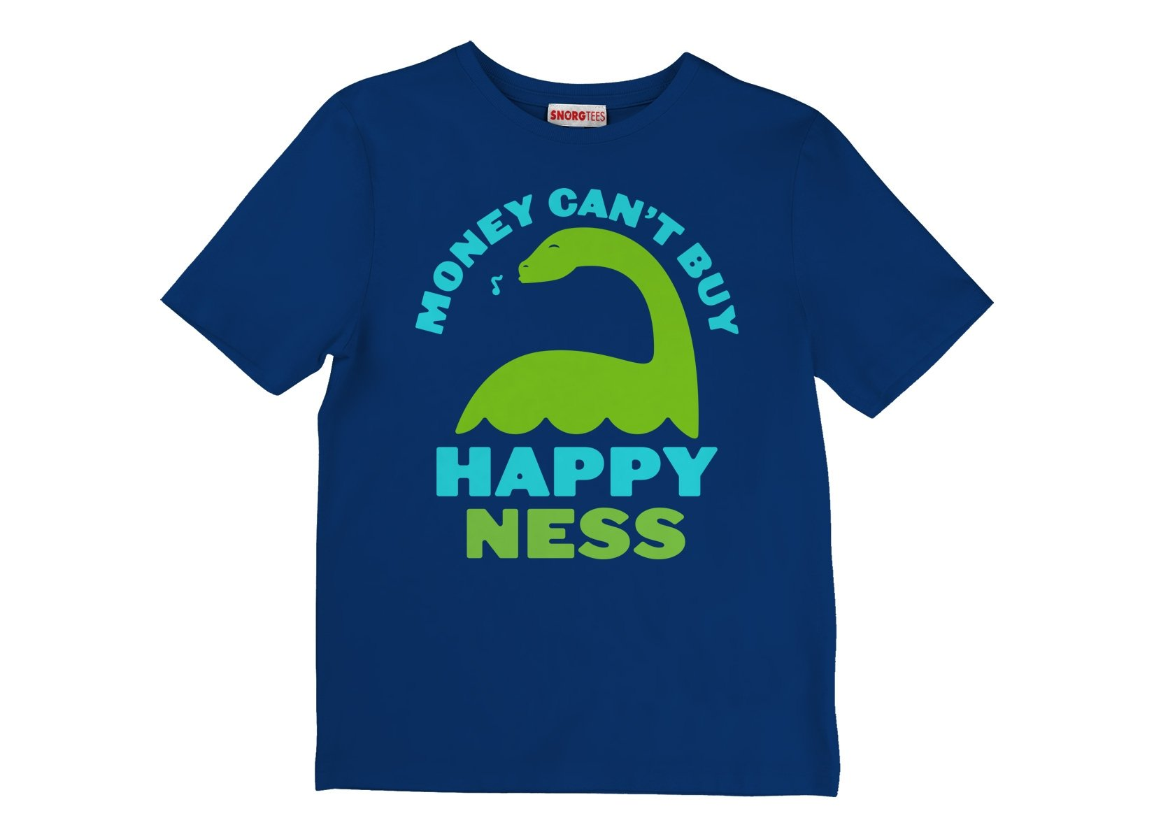 Money Can't Buy Happy Ness on Kids T-Shirt