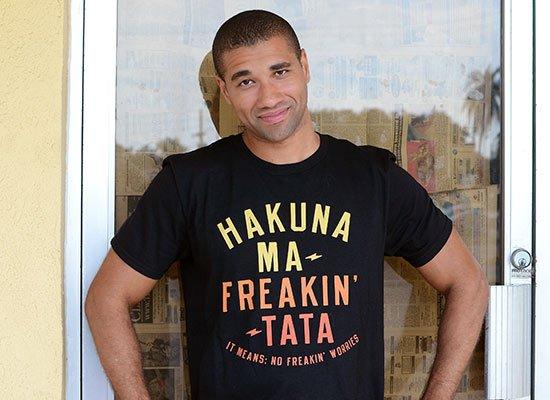 Hakuna Ma-Freakin-Tata on Mens T-Shirt