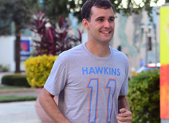 Hawkins 11 on Mens T-Shirt