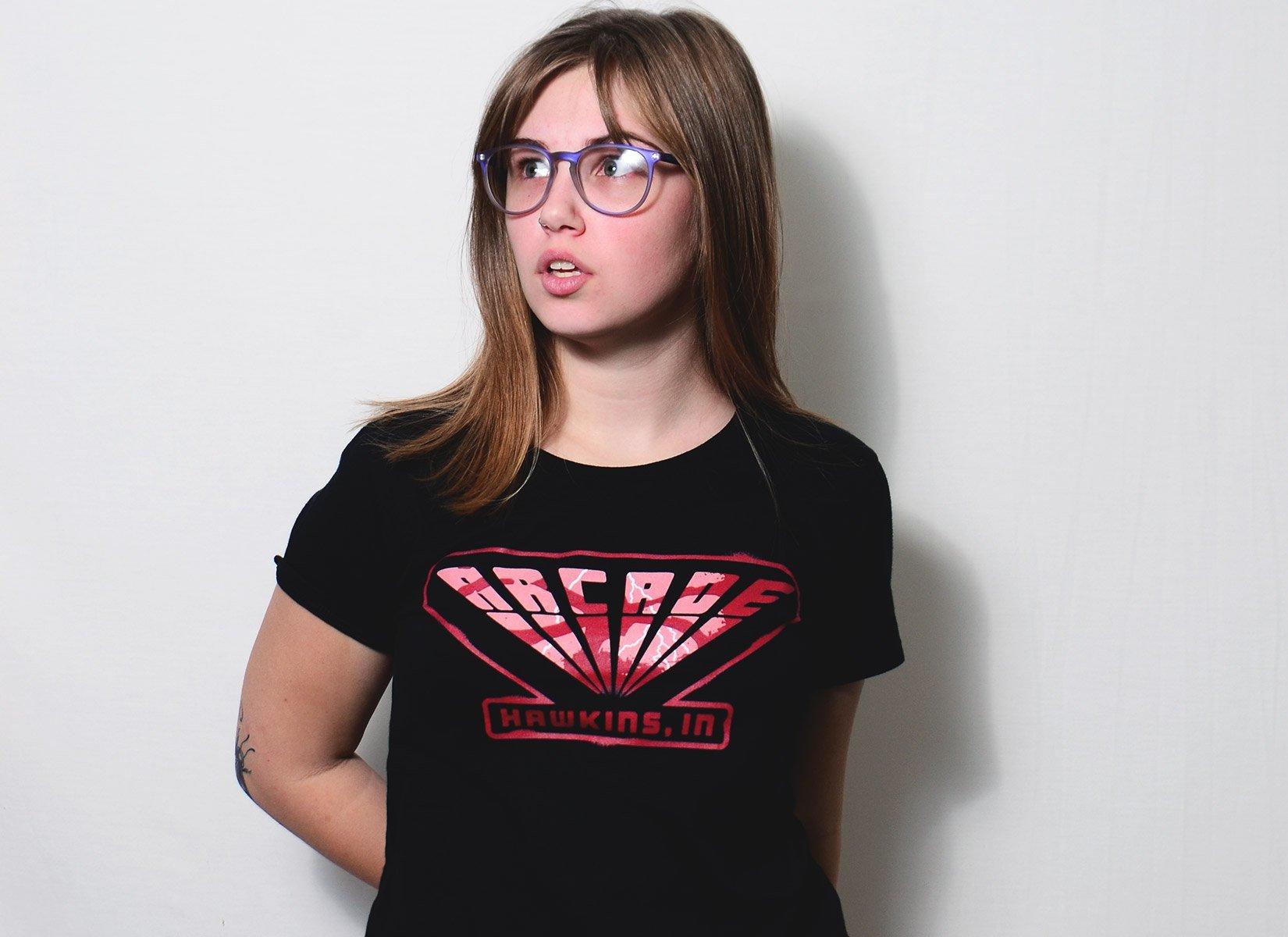 Arcade on Womens T-Shirt