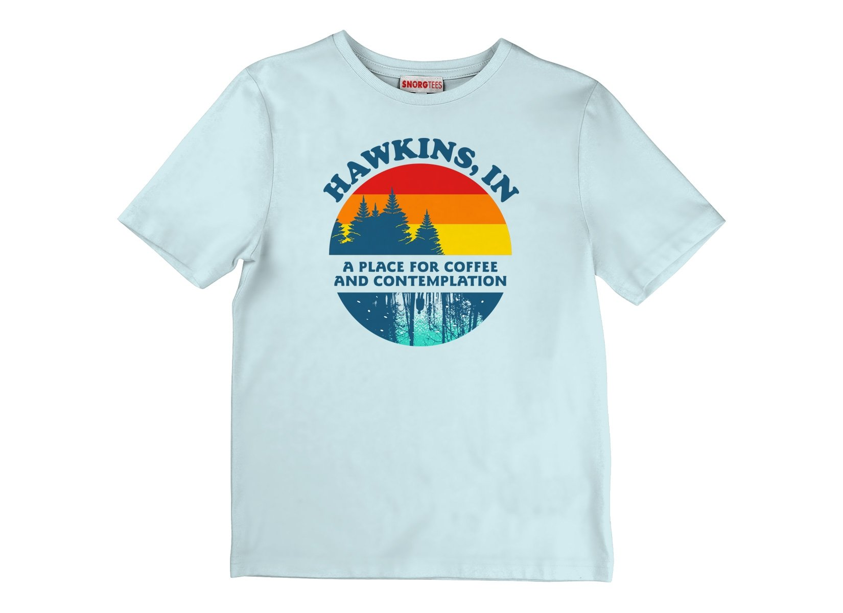 Hawkins Retro on Kids T-Shirt