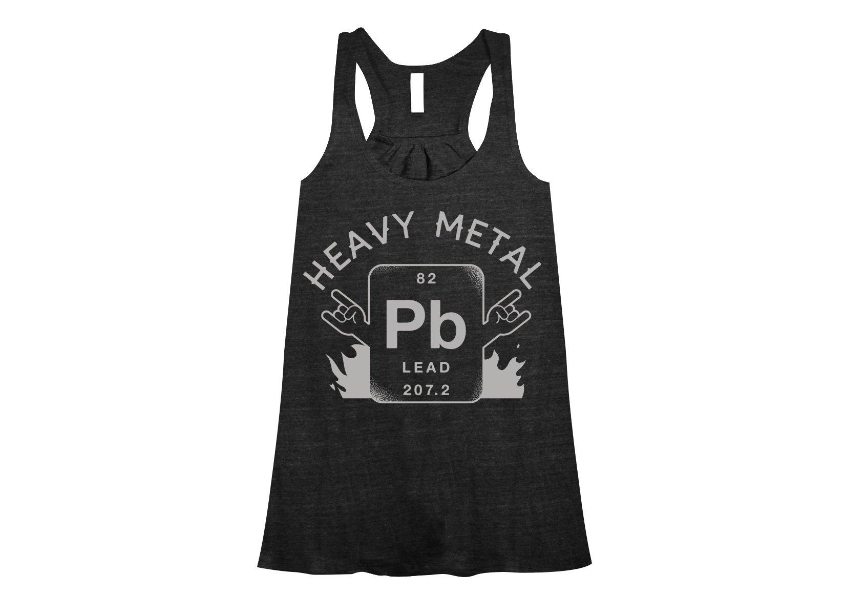 Heavy Metal on Womens Tanks T-Shirt