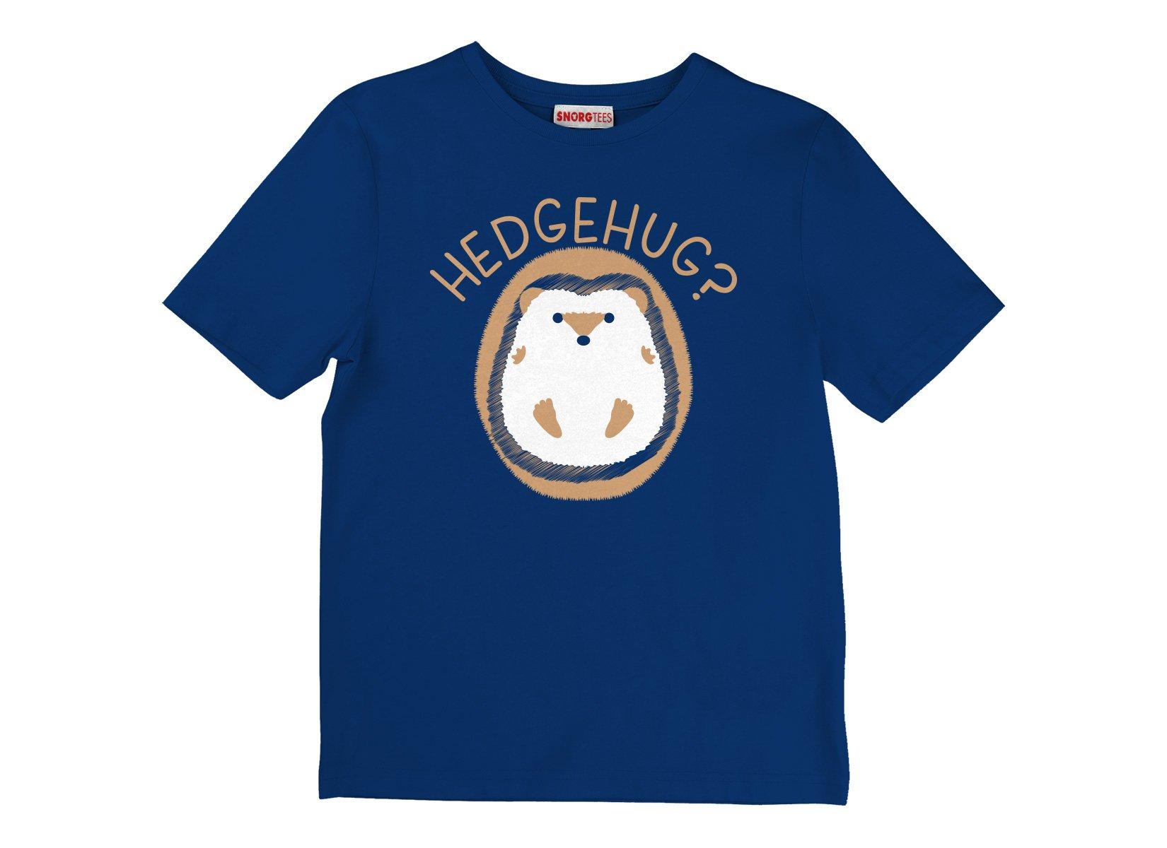 Hedgehug on Kids T-Shirt