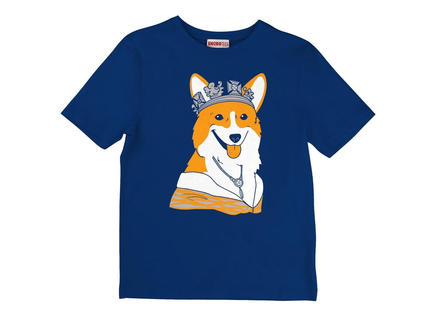 Her Majesty on Kids T-Shirt