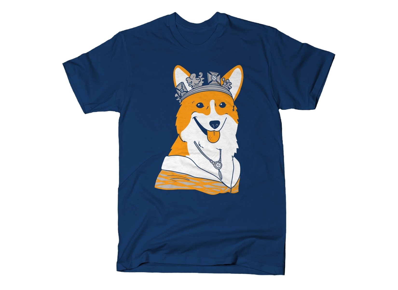 Her Majesty on Mens T-Shirt
