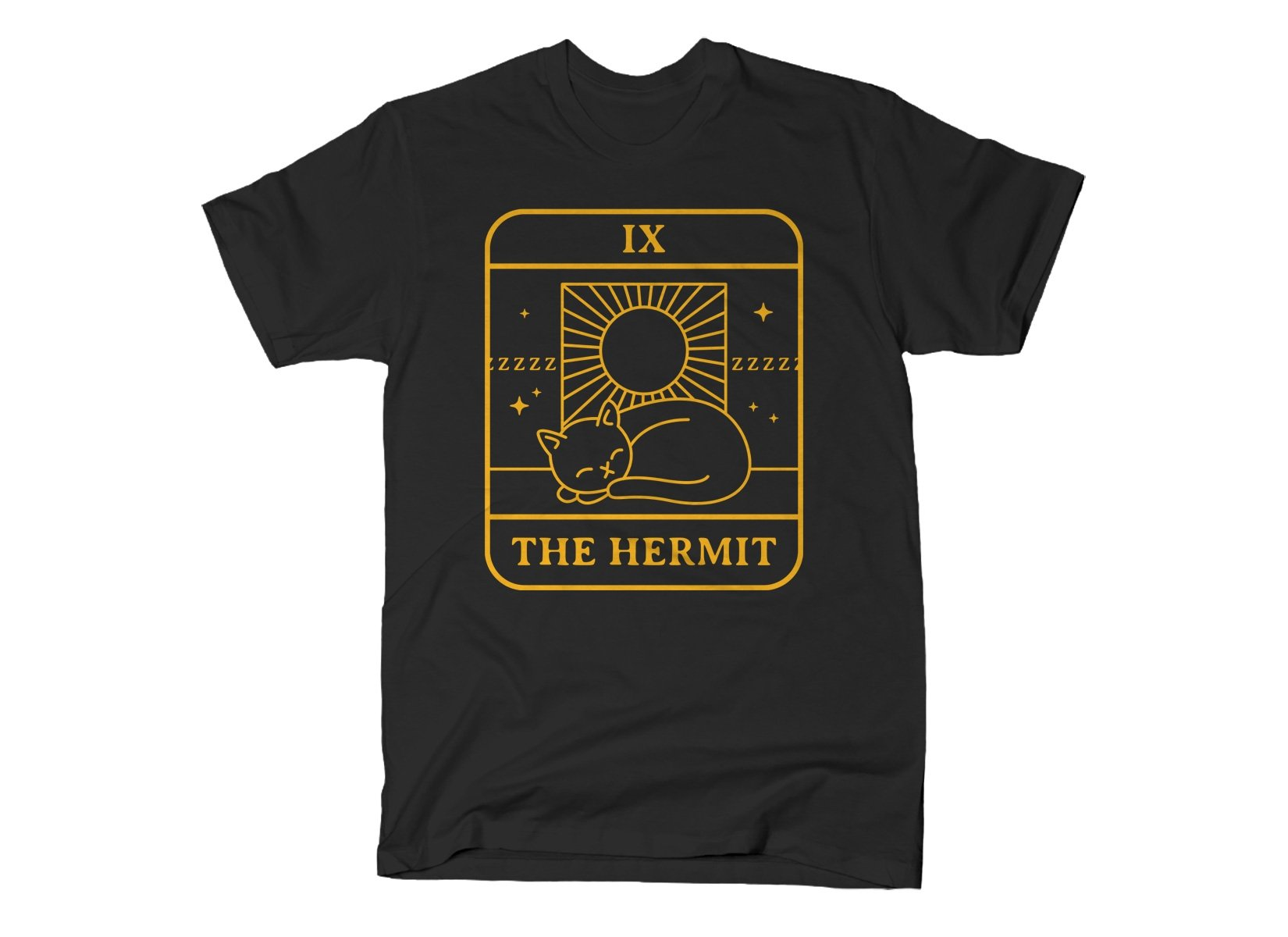 The Hermit on Mens T-Shirt