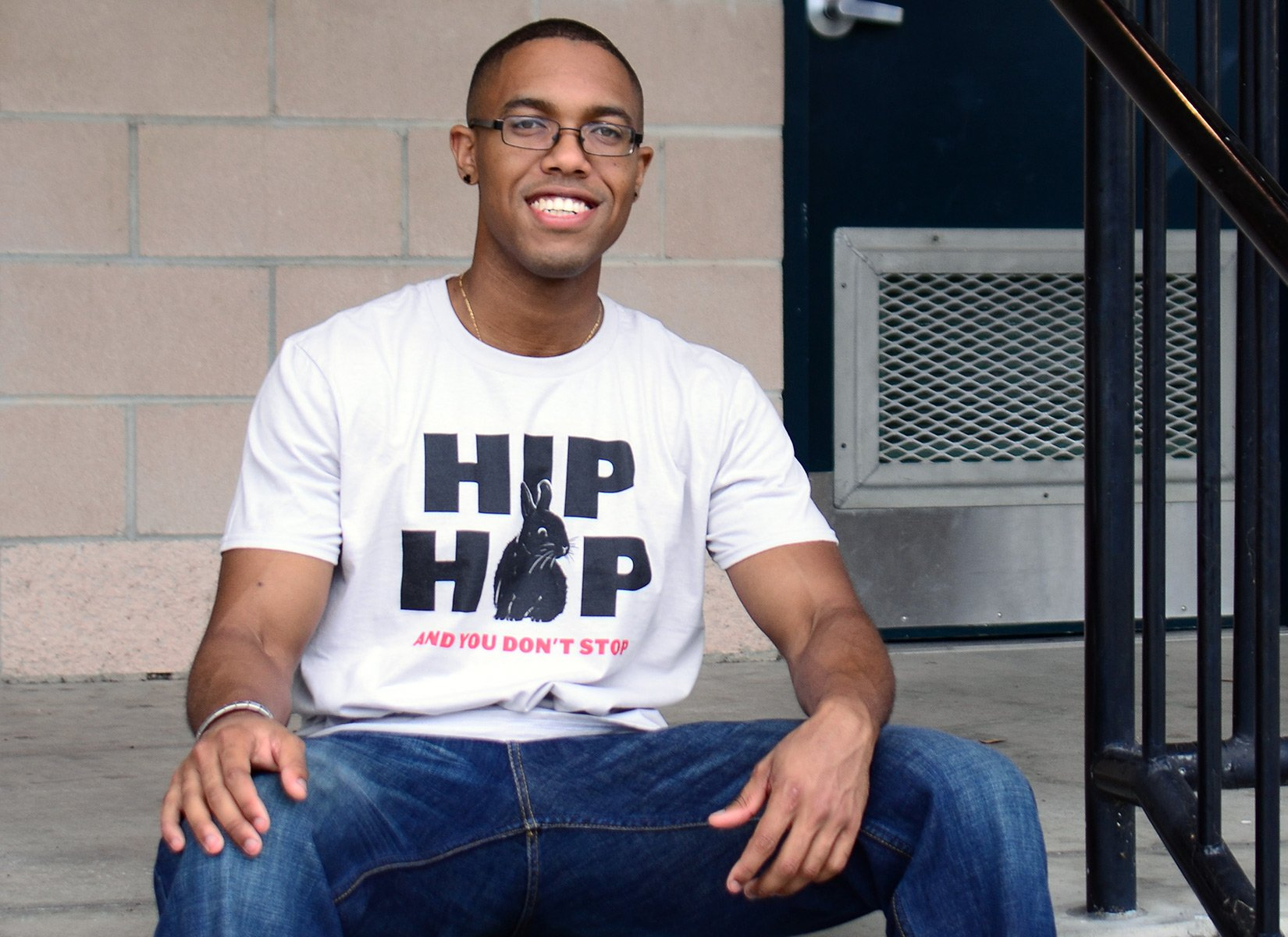 Hip Hop And You Don't Stop on Mens T-Shirt