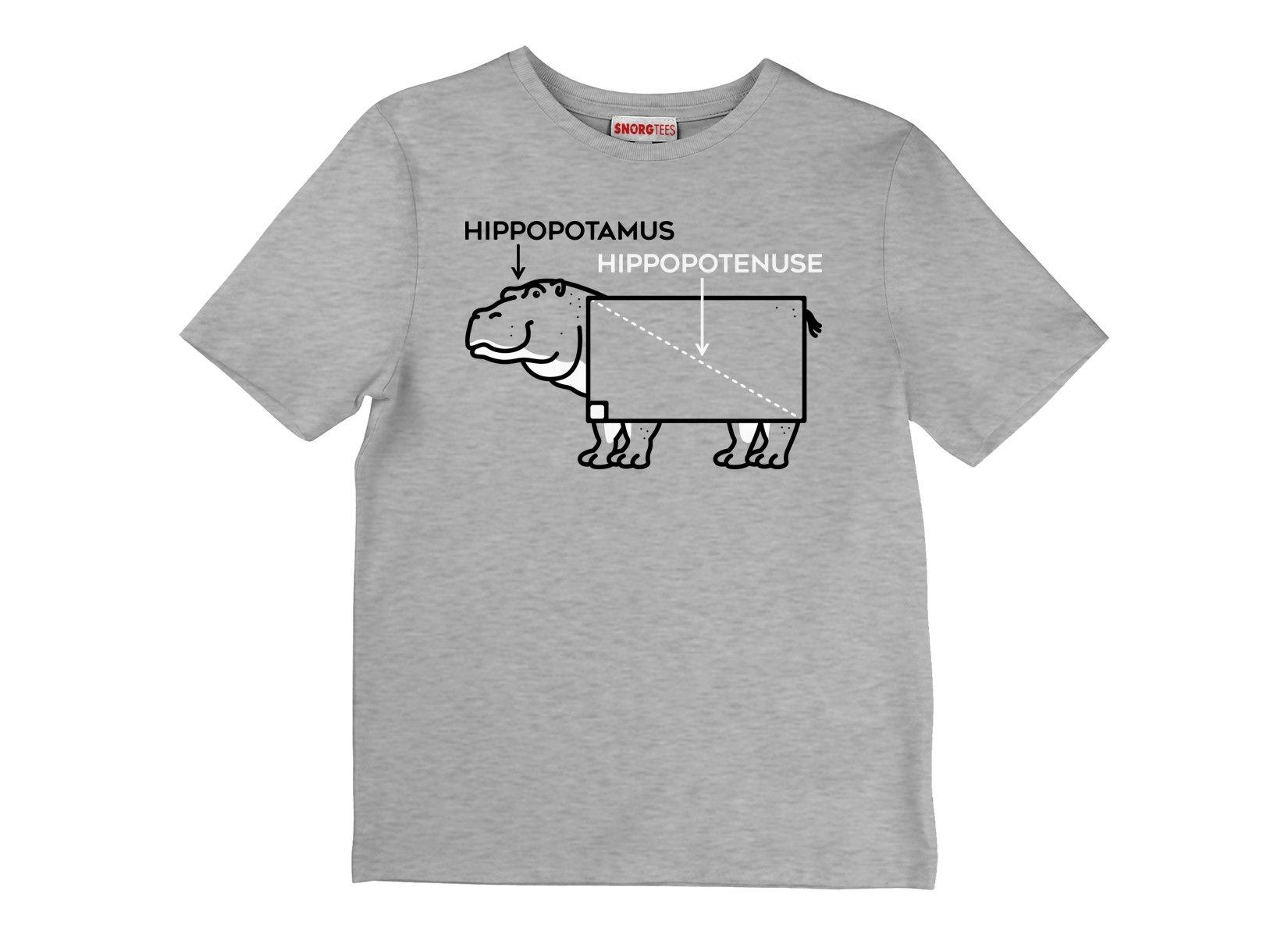 Hippopotenuse on Kids T-Shirt