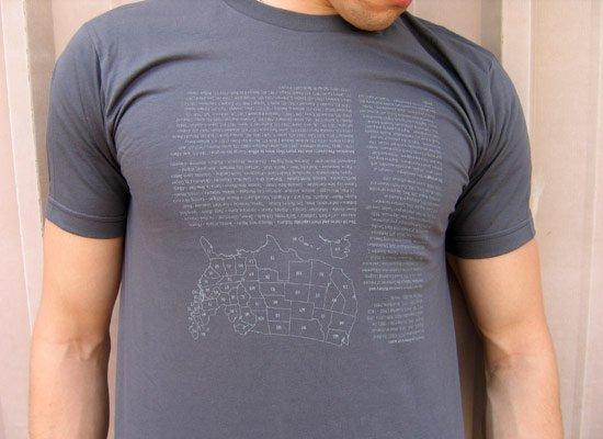U.S. History Cheat Shirt on Mens T-Shirt