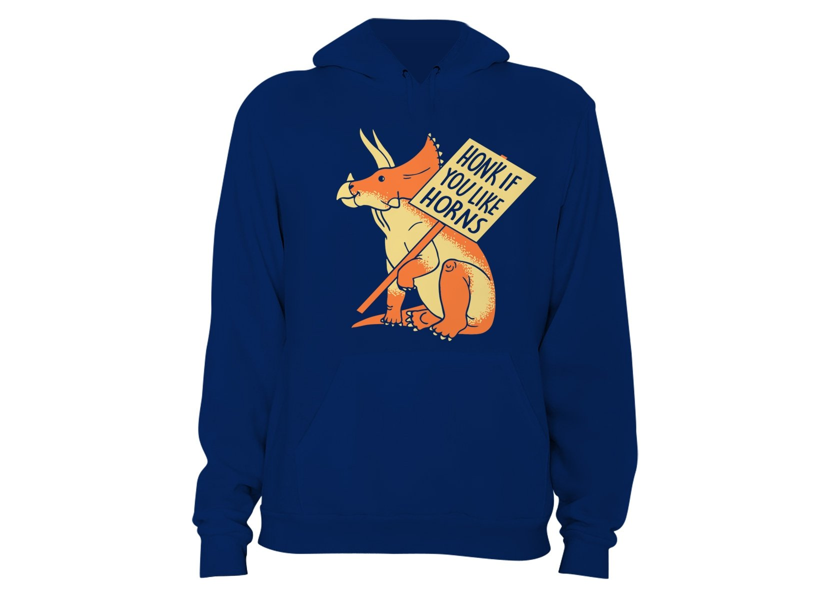 Honk If You Like Horns on Hoodie