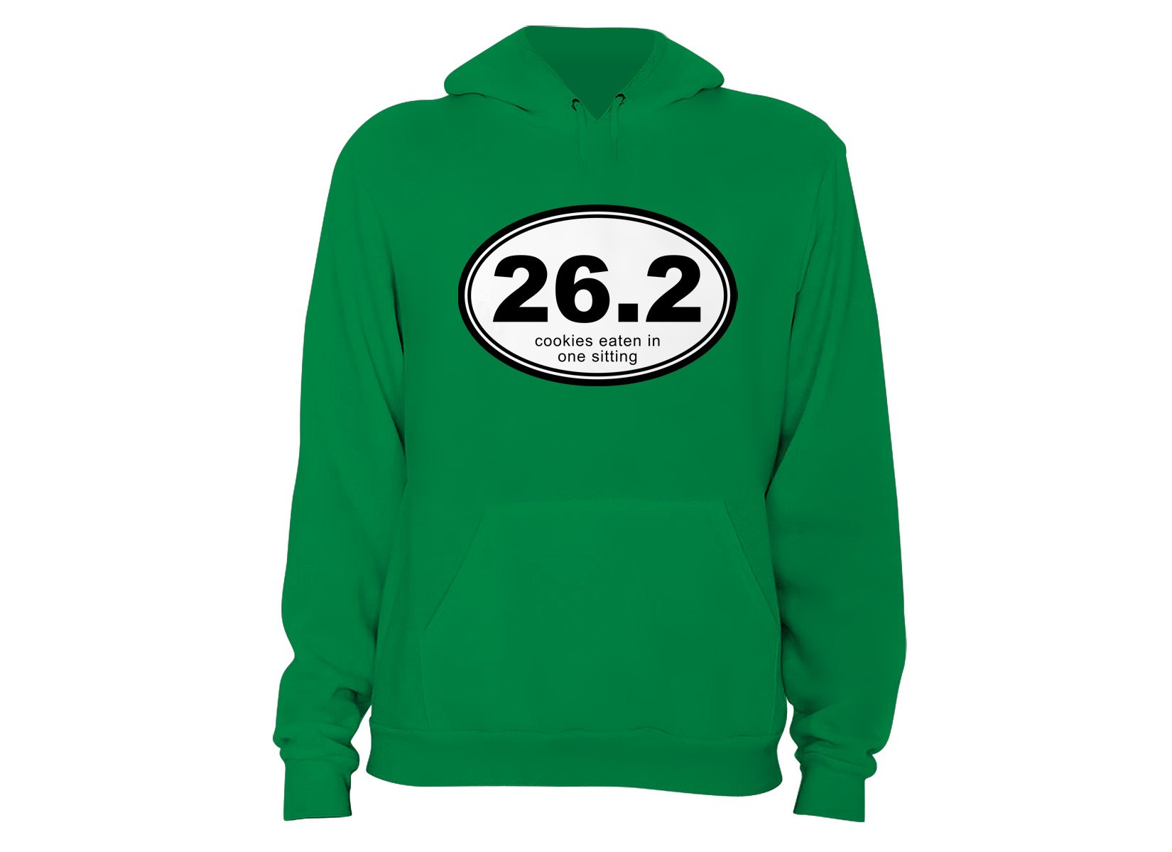 26.2 Cookies Eaten In One Sitting on Hoodie