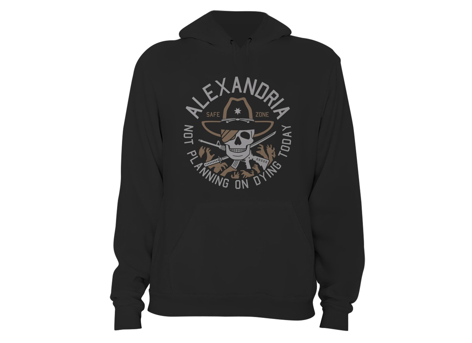 Alexandria Safe Zone on Hoodie