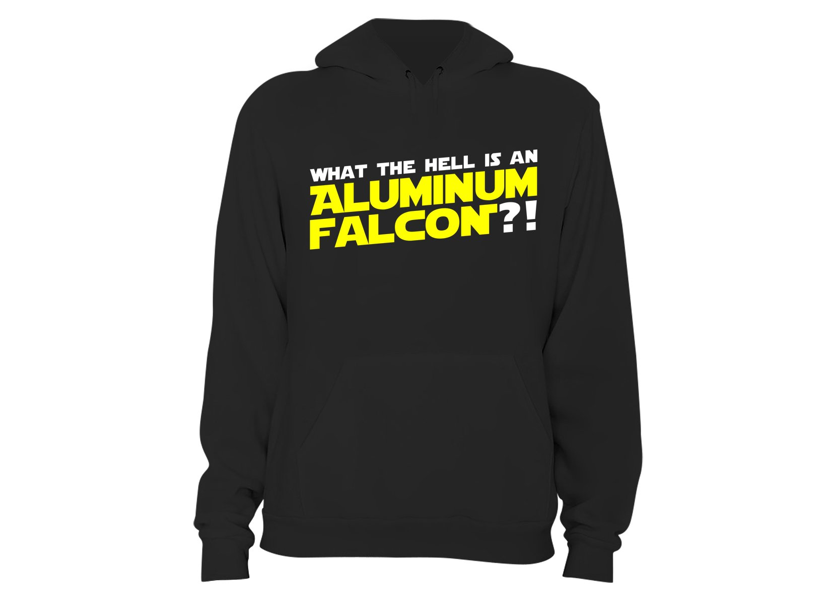 Aluminum Falcon on Hoodie