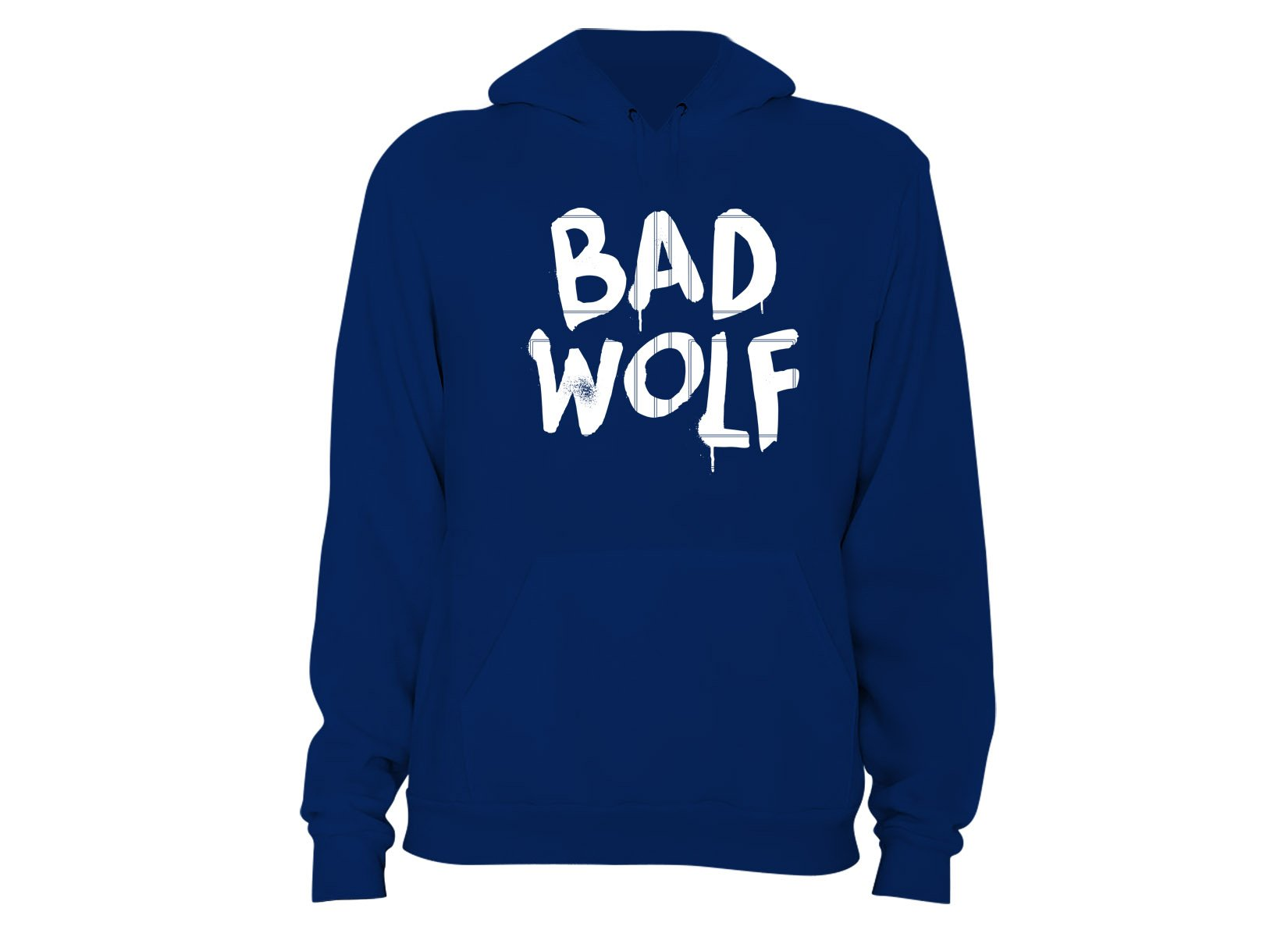 Bad Wolf on Hoodie