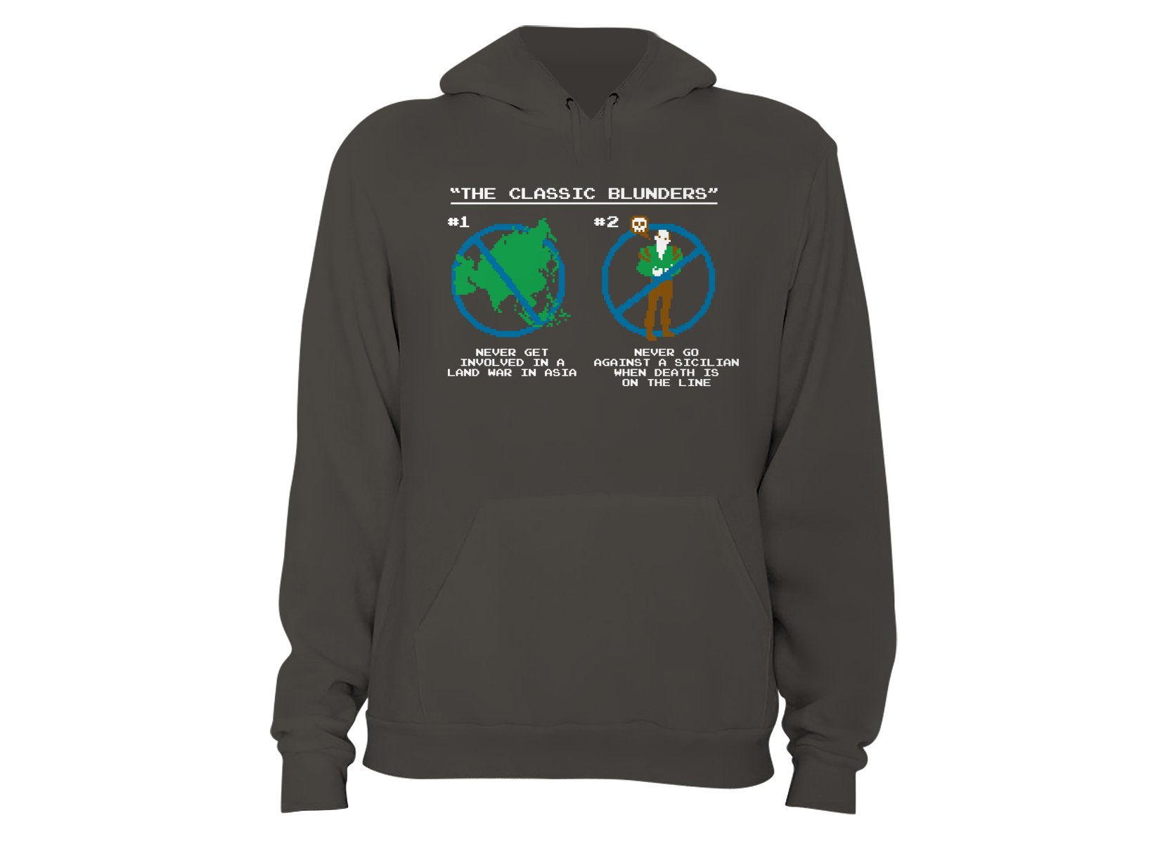 The Classic Blunders on Hoodie