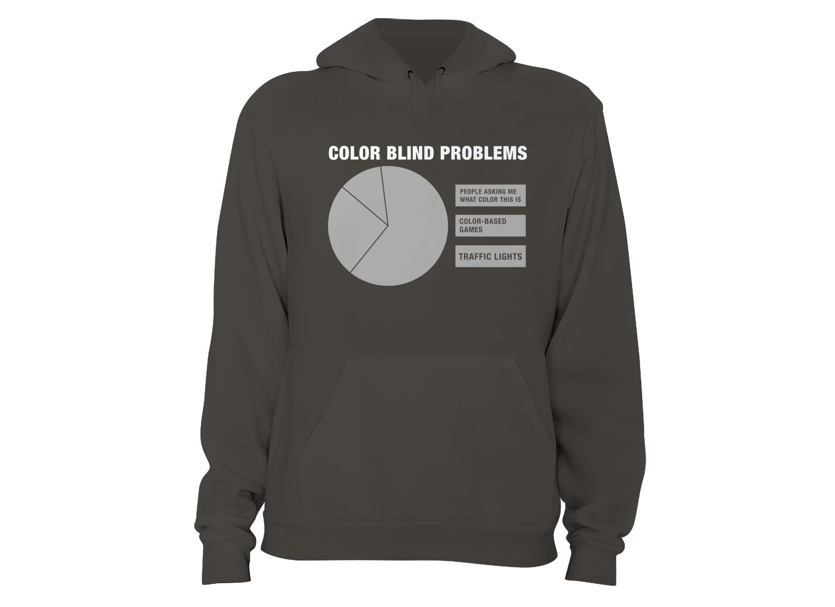 Color Blind Problems on Hoodie