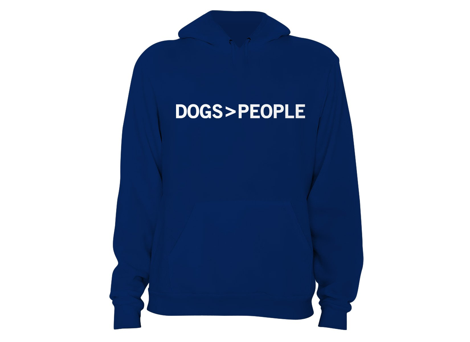 Dogs>People on Hoodie