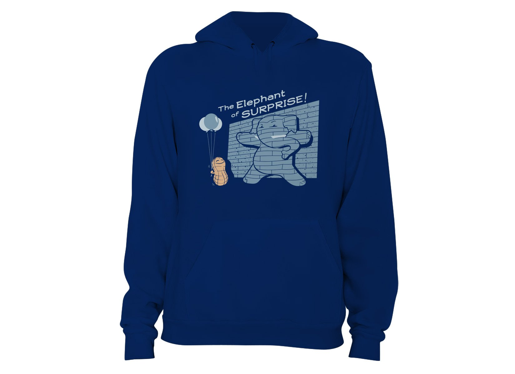 The Elephant of Surprise! on Hoodie