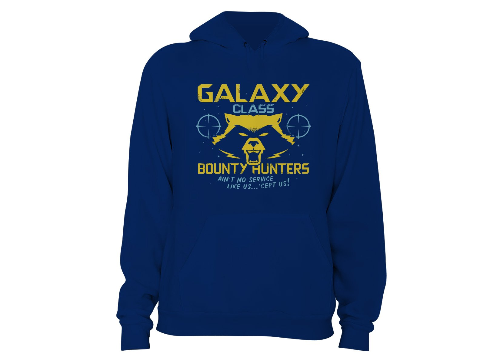 Galaxy Class Bounty Hunters on Hoodie
